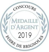 Silbermedaille 2019 Brignoles