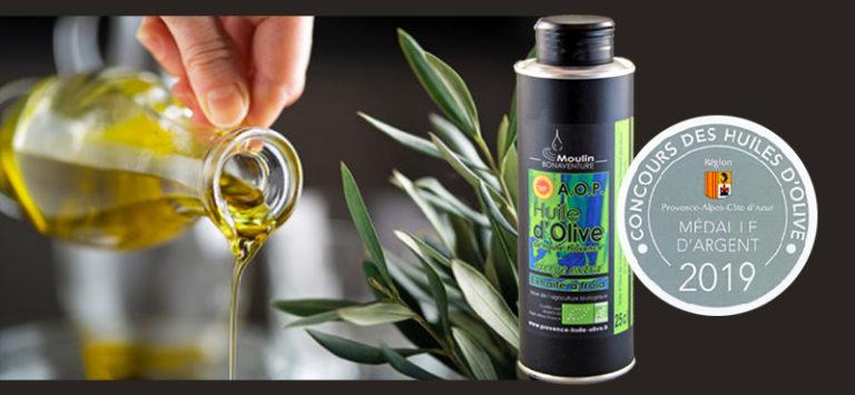 Concours paca huile d'olive AOP bio 2019