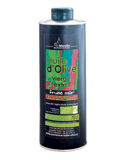 Ripe fruity Olive Oil-75cl