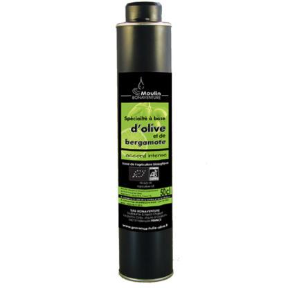 spécialité à base d-olive et de bergamote bio