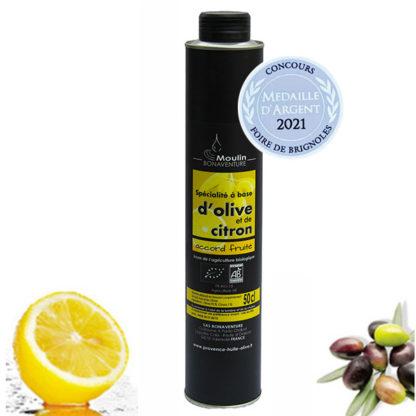Oliven und Zitrone Spezialitäten