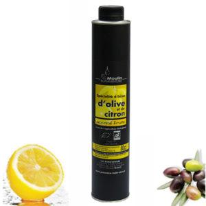 Huile d'olive et citron bio