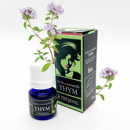 huile essentielle de thym thujanol de provence bio