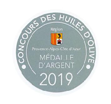 medaille-d-argent-concour-des-huiles-d-olives-paca-2019