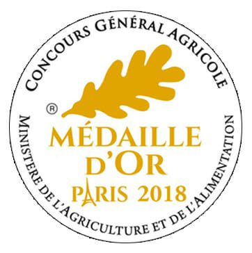 Goldmedaille in Paris