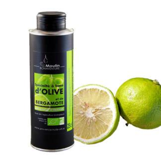 Spécialité à base d'olive et de bergamote bio